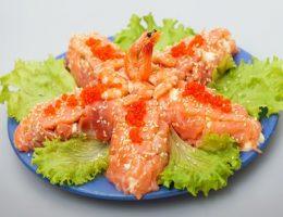 Миниатюра к статье Рыбный салат «Морская звезда»