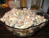Миниатюра к статье Салат из куриной печени с помидорами