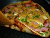 Миниатюра к статье Вкусная пицца за 10 минут!