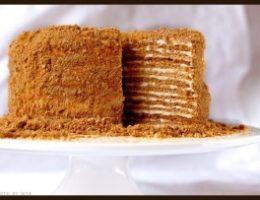 Миниатюра к статье Медовый торт с цитрусовыми оттенками