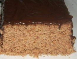 Миниатюра к статье 5-минутный ореховый торт без муки и масла в микроволновке