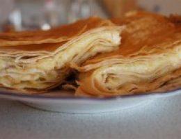 Миниатюра к статье Сырный пирог из армянского лаваша за 5 мин.