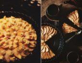 Миниатюра к статье Яблочно-миндальный пирог