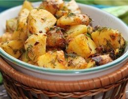 Миниатюра к статье Картошка по-бомбейски (индийская кухня)