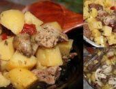 Миниатюра к статье Мясо с картофелем в рукаве