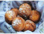 Миниатюра к статье Творожные пончики с кокосом и шоколадом