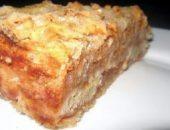 Миниатюра к статье Сыпучий и очень вкусный пирог с яблоками