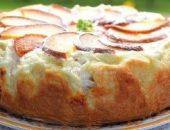 Миниатюра к статье Пирог с творожно - персиковой начинкой