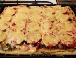 Миниатюра к статье Очень вкусная пицца