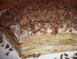 Миниатюра к статье Нежнейший блинный тортик