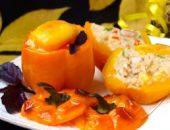 Миниатюра к статье Перцы фаршированные кус-кусом с овощами