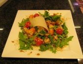 Миниатюра к статье Рецепт - Салат с крабами и грибами