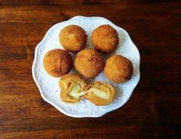 Миниатюра к статье Картофельные шарики с сыром