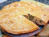 Миниатюра к статье Пирог с семгой, брынзой и шпинатом